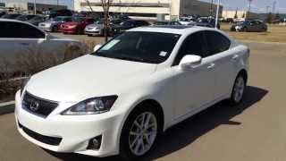 Lexus Certified Pre Owned White 2012 IS 250 AWD - Leather w/ Moonroof Package - Camrose
