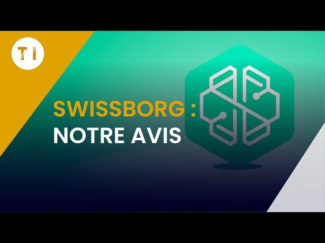 Swissborg: la meilleure application pour acheter vos crypto monnaies !  (au prix le plus bas)
