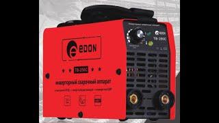 Edon TB-250C Недорогой сварочный инвертор обзор и тест