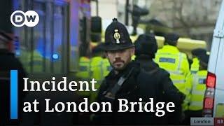 Man shot by police after stabbing at London Bridge   DW News