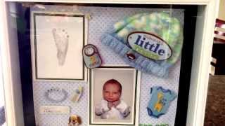 Diy: How To Make A Newborn Shadow Box