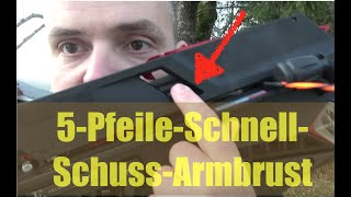 Schnell-Schuss-Armbrust: Beste Survival-Armbrust?  | EK Adder