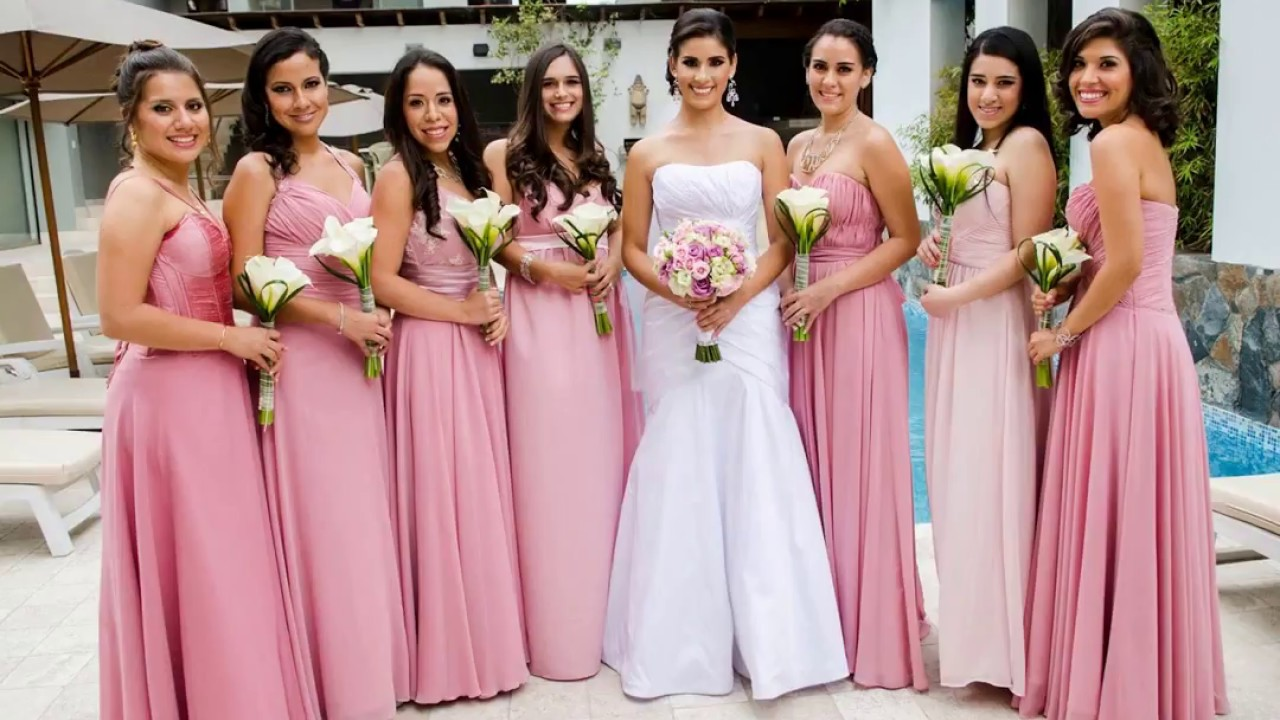 nueva llegada 7fcfa 5d09a DAMAS DE HONOR 2018♥ VESTIDOS DAMAS DE HONOR