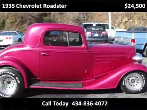 1935 Chevrolet Roadster Used Cars Danville, Lynchburg, Blair