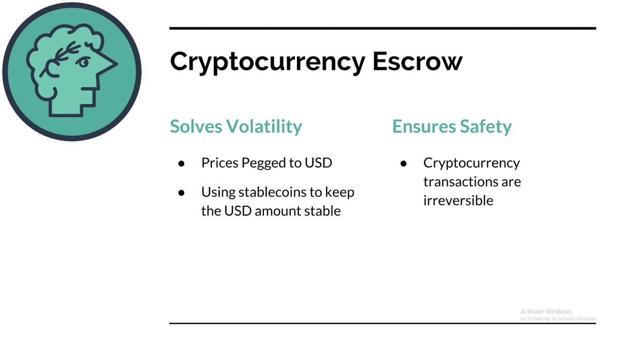 what is escrow cryptocurrency