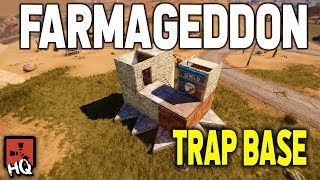 FARMAGEDDON - Auto-Farming TRAP BASE - Rust