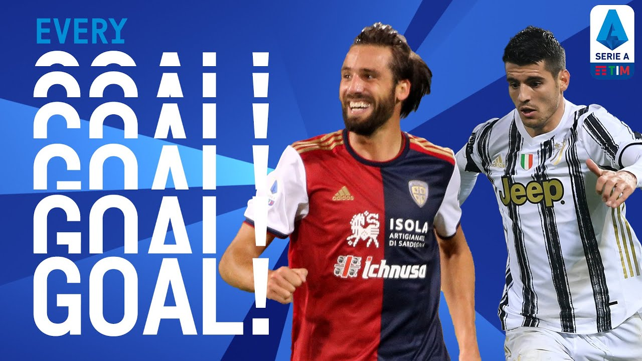 Pavoletti breaks goal drought and Morata's marvellous goal! | EVERY Goal | Round 9 | Serie A TIM