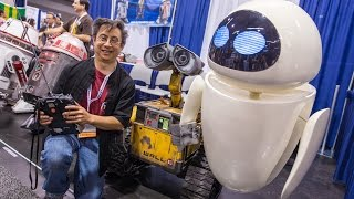 Repeat youtube video Real Life-Size EVE Robot (from Wall-E!)