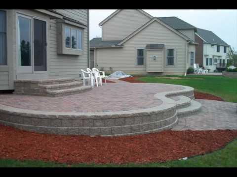 Backyard Raised Garden Patio Design Ideas - YouTube on Raised Patio Designs  id=39608