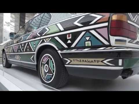 Installing a BMW Art Car in the British Museum