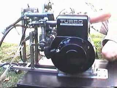Racing Lawn Mower Engine >> Turbocharged Electronic Fuel Injected Briggs Stratton Motor - YouTube