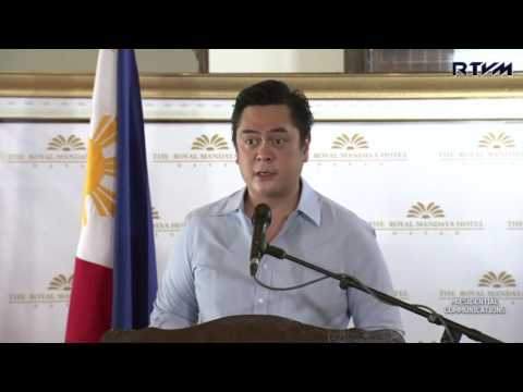 Official Announcement by Sec. Andanar on the Signing of the EO on FOI 7/24/2016