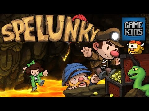 Spelunky with Matt, Webb, and Mills - Kids Play