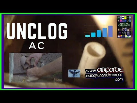 how-to-unclog-clogged-air-conditioner-condensate-drain-wet-carpet-floor-in-front-of-ac