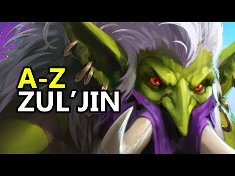 ♥ A - Z Zul'jin - Heroes of the Storm (HotS Gameplay)