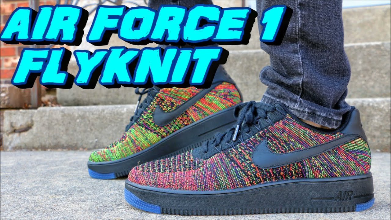Air Force 1 Low Flyknit Multicolor