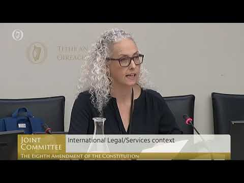 Dr Patricia Lohr, BPAS, addresses the Oireachtas committee - YouTube