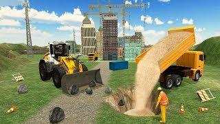 Heavy Crane Construction   City Mega Construction Simulator 2018 - Android GamePlay#2 HD