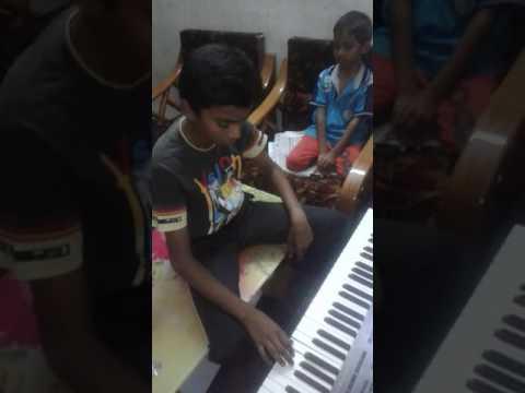 Nirantharam song in keyboard