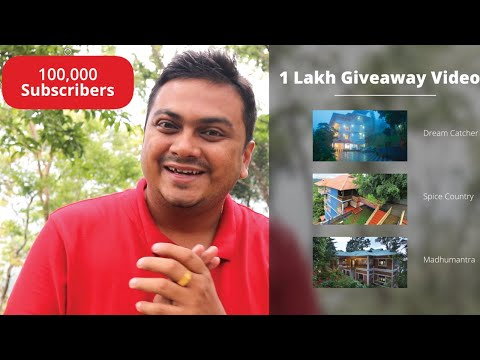 1 Lakh Subscribers Giveaway Announcement - Tech Travel Eat