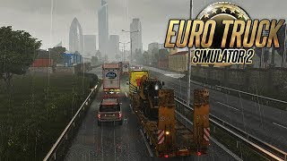 PIOGGIA A LONDRA - EURO TRUCK SIMULATOR 2 GAMEPLAY ITA