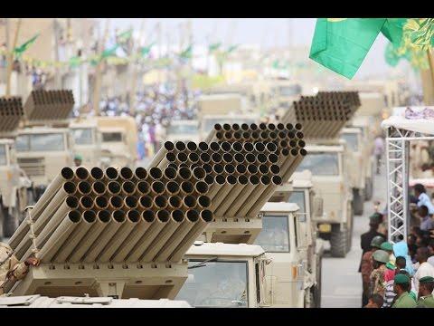 Mauritanie démonstration de force dans les rues de Nouadhibou