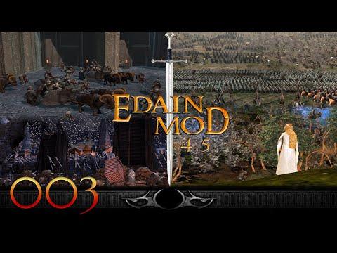 Edain Mod 4.5 🏹 Multiplayer 🏹 Schlacht Um Mittelerde 2 Aufstieg Des Hexenkönigs #003