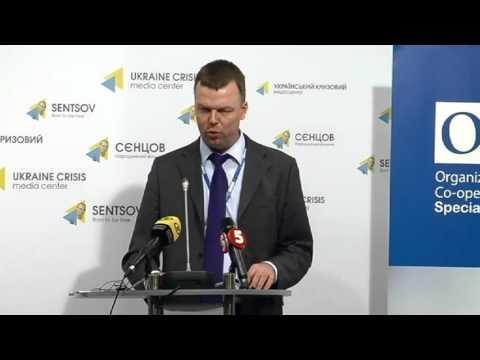 Alexander Hug: general update on OSCE SMM. UCMC-11-02-2016
