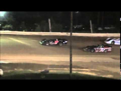 Steel Block Late Model Heat #2 from Jackson County Speedway 9/5/14.
