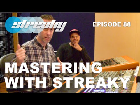 MASTERING A TRACK WITH AT METROPOLIS MASTERING STUDIO WITH STREAKY