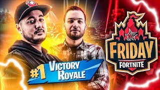 ON TOP1 AU FRIDAY FORTNITE CONTRE DES PROS  !!! (ft.Mickalow)