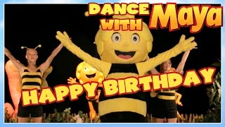 Maya the Bee 🌼 Happy Birthday Dance 🌼 Dance with Maya and her friends!