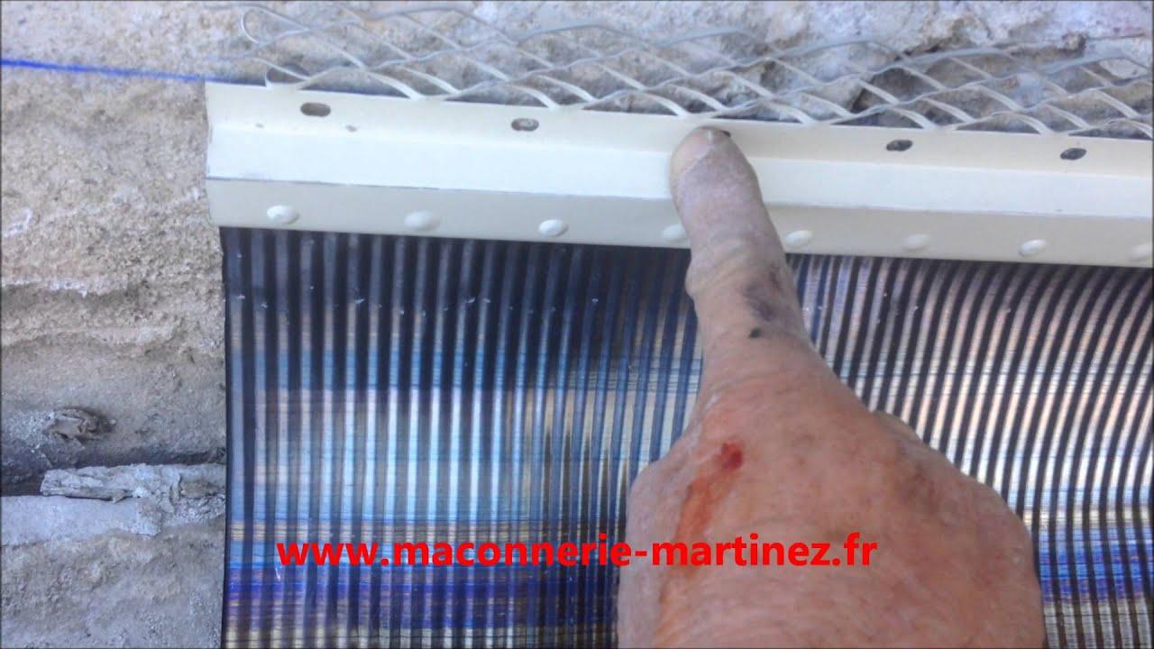 Comment Poser En Solin En Plomb Neuf Ou Renovation Www Maconnerie Martinez Fr Youtube