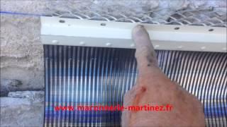 Comment poser en solin en plomb neuf ou rénovation WWW.MACONNERIE-MARTINEZ.FR