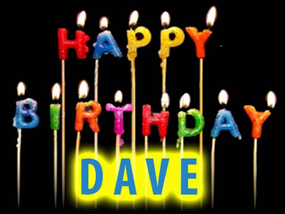 Happy Birthday David Funny