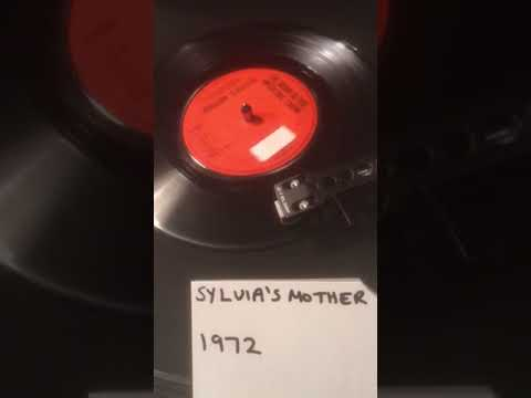 Dr Hook & The Medicine Show - Sylvia's Mother From 1972 ( Vinyl 45 ) .