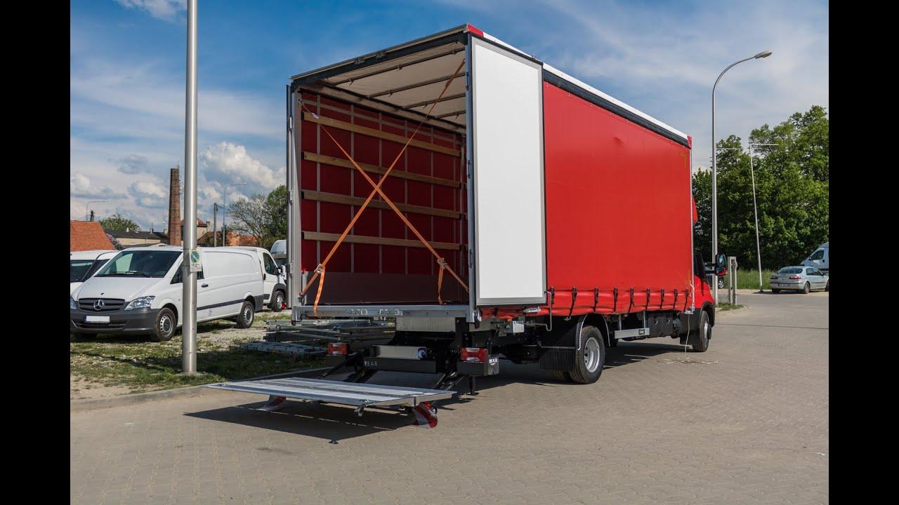 W superbly Iveco Daily z windą załadunkową Cargolift - YouTube MO95