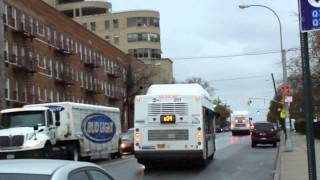 MTA Bus Company: New Flyer C40LF #201 Q34 @ Parsons Boulevard and Union Turnpike!