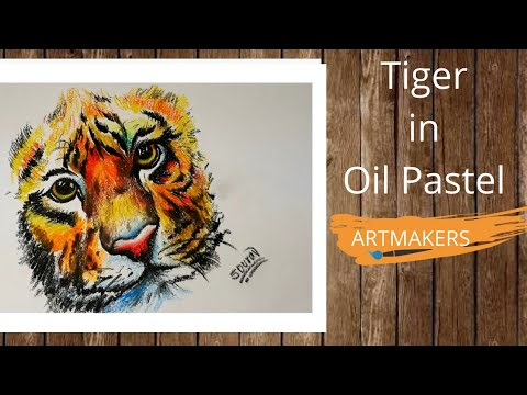 how-to-draw-tiger-in-oil-pastel-with-artmakers-#68
