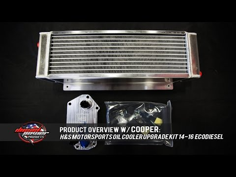 Keep Your Cool: H&S Motorsport 14-16 Ram Ecodiesel Oil