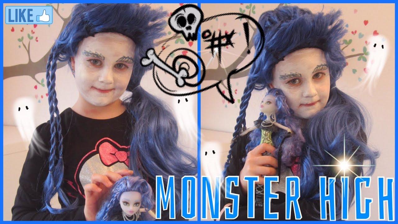 Monster High Barbie Teil 2 Frisur Karneval Fasching Halloween