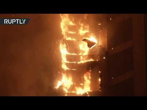 Dubai Torch Tower Fire: Huge fire rips through apartment building