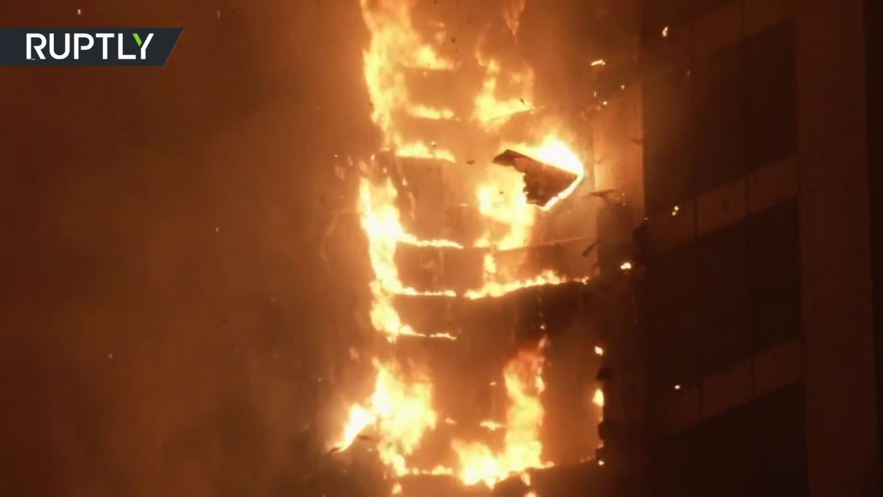 Dubai Torch Tower Fire: Huge fire rips through apartment building