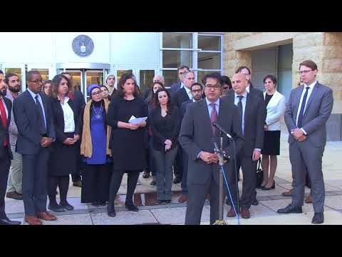Video: CAIR, Other Civil Rights Groups Hold Presser After Md. Court Arguments on Trump's Muslim Ban