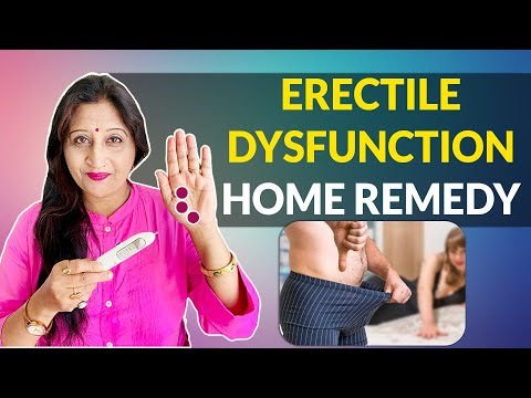 How To Cure Erectile Dysfunction Naturally - Home Remedies Secret (Effective & Fast) thumbnail