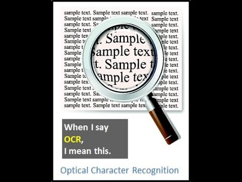 Optical Character Recognition (OCR) With Javascript