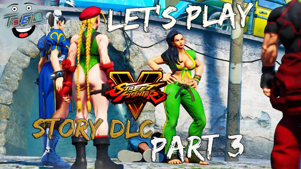 Let's Play Street Fighter V / SF5 A Shadow Falls (Laura Brazilian Madness )  Part 3 Commentary/ Tsele