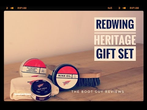Red Wing Heritage Shoe Care Gift Kit [ The Boot Guy Reviews ]