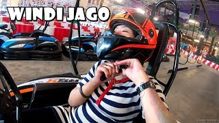 FIRST TIME TEST GOKART