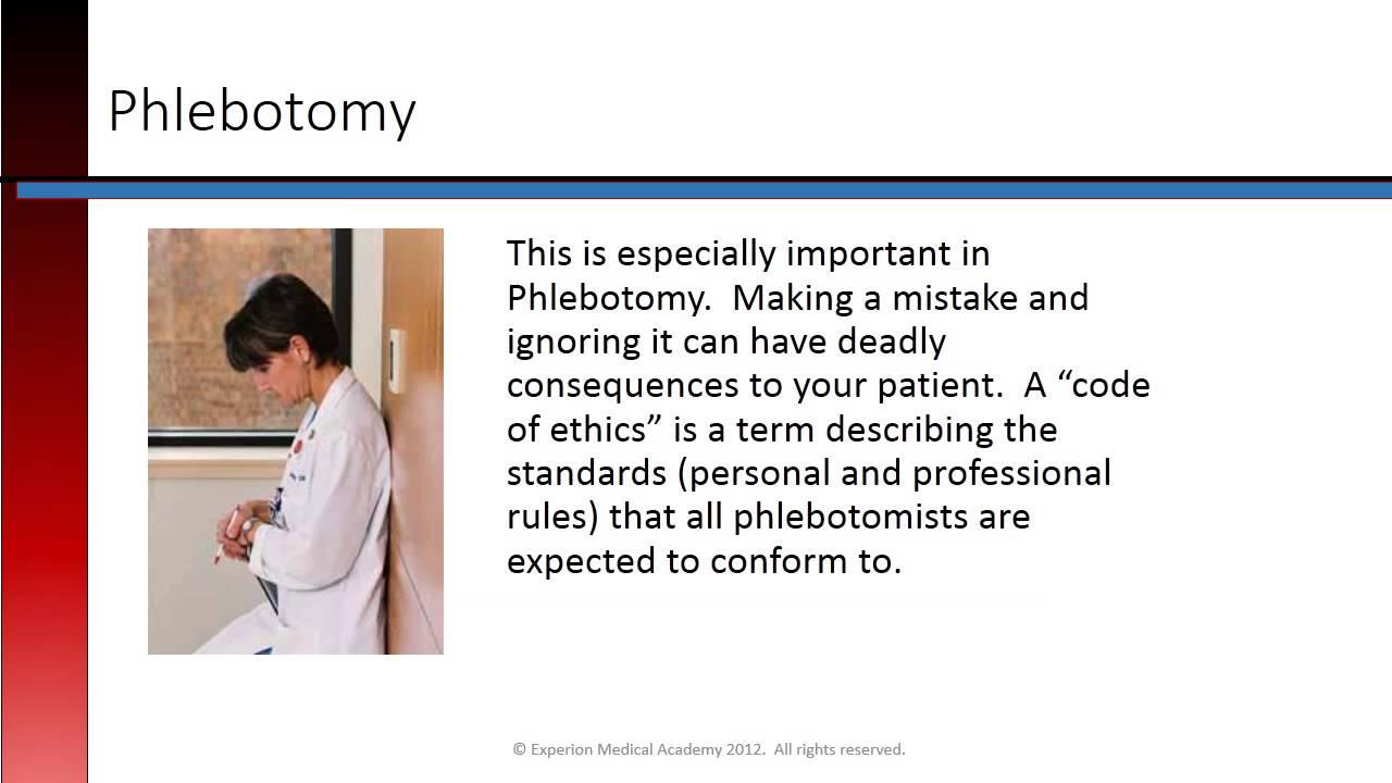 Phlebotomy Lesson 12 Phlebotomy Professionals Youtube
